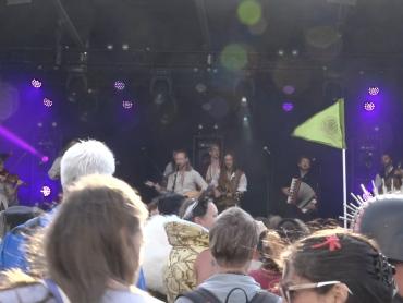 Screencap of YouTube video Varend Volk at Castlefest 2019