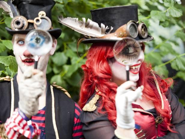 Castlefest, fantasy festival, the carnies, fantasy entertainment